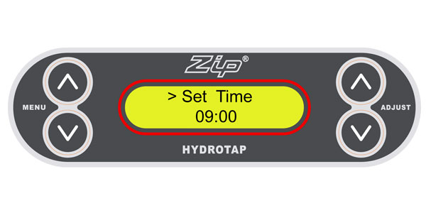 How do I set the time and date – HydroTap G3