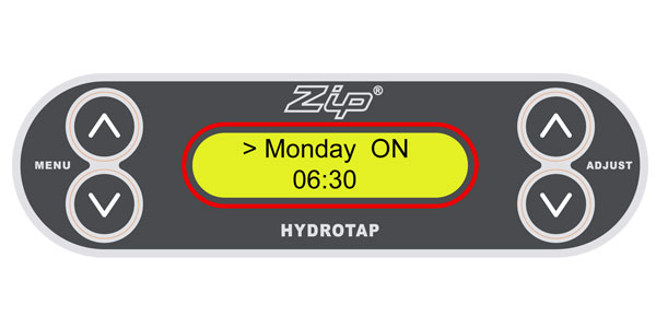 How to set or change energy modes - Zip HydroTap G3