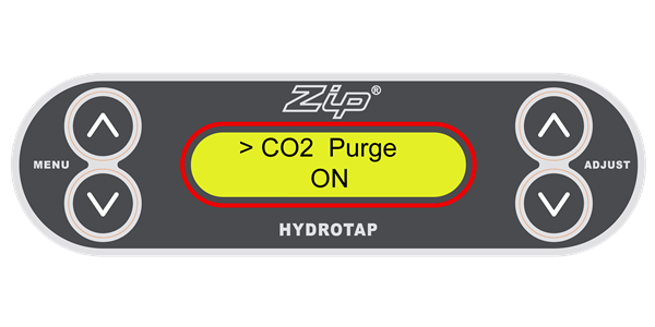 If you go away for an extended period, Zip recommends you turn off your G3 HydroTap (Sparkling unit) to save water and energy.