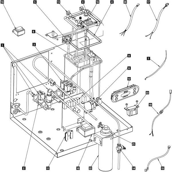 water gauge wiring diagram schemes