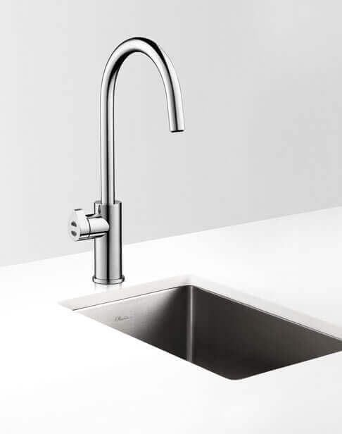 Bright Chrome Arc HydroTap